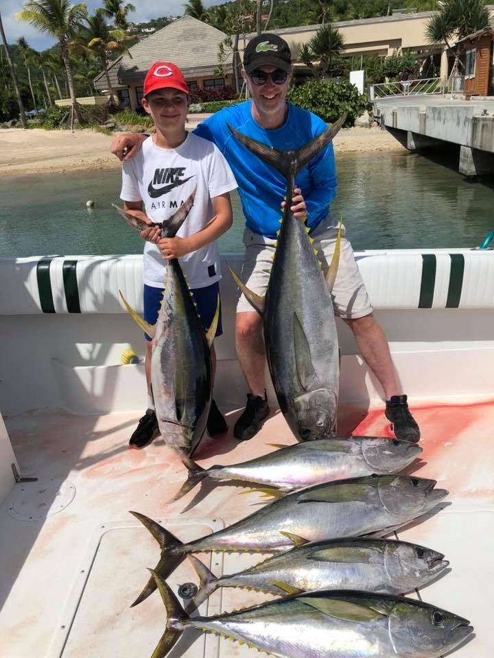 Fish From St John USVI - Mixed Bag Sport Fishing Fun
