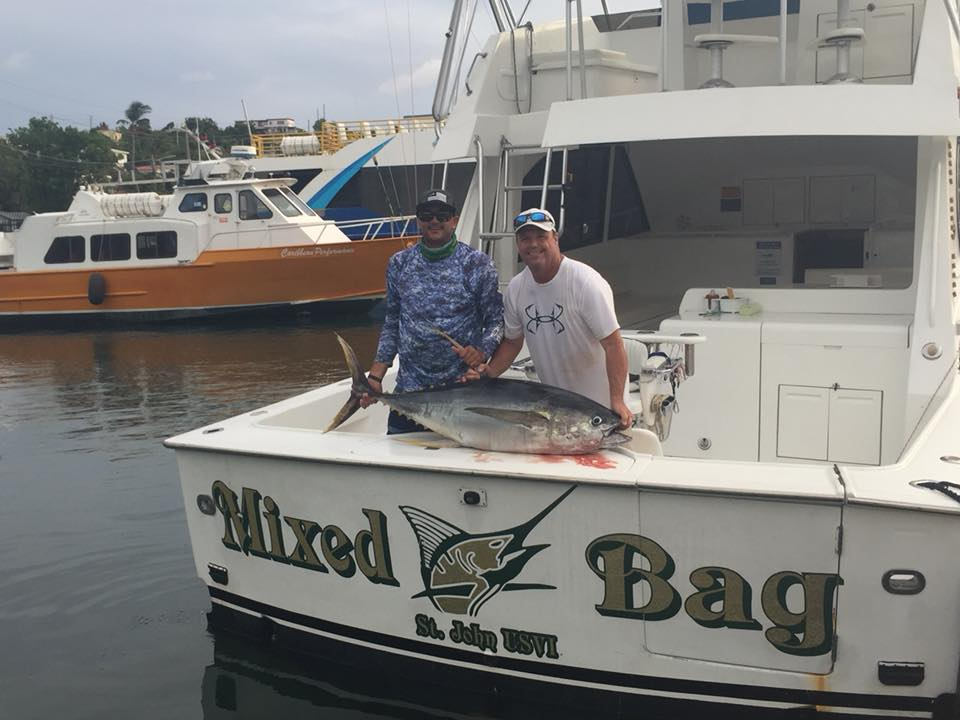 Mixed Bag Sport Fishing St Thomas- Great Fishing