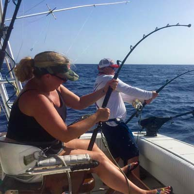 Women Who Fish 2 - Mixed Bag Sport Fishing St Thomas - Great USVI Fishing