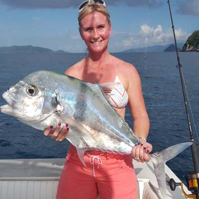 Women Who Fish 4 - Mixed Bag Sport Fishing St Thomas - Great USVI Fishing