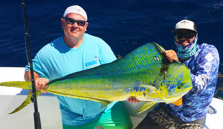 Great Catch in USVI Sport Fishing from the Mixed Bag with Captain Rob