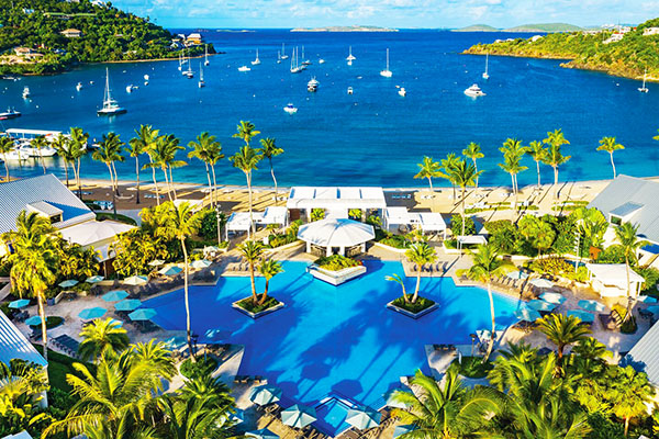 The Westin St. John, Resort & Villas Pick up Location